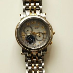 Citizen Moon Phase Eco Drive Watch